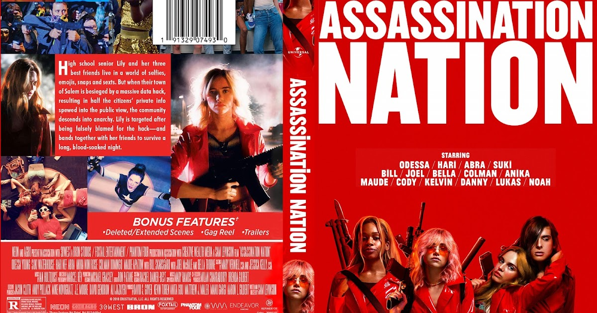 Assassination Nation Dvd Cover Cover Addict Free Dvd