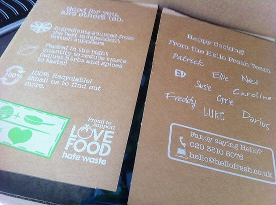 emily 39 s recipes and reviews uk food blog leicestershire hello fresh box review. Black Bedroom Furniture Sets. Home Design Ideas