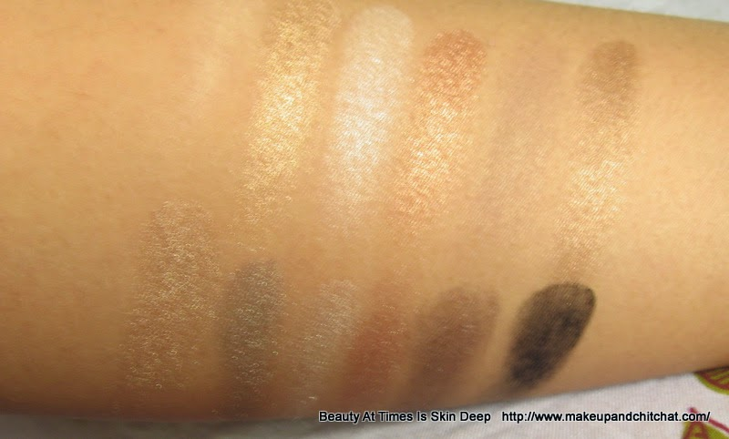 MUA Undress Me Too Palette Swatches|  MUA Undress Me Too Palette price