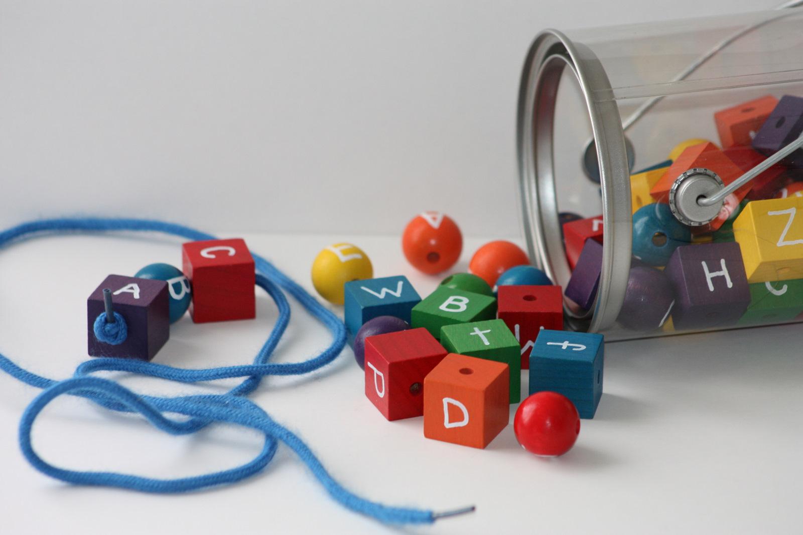 Like A Pretty Petunia Alphabet Beads