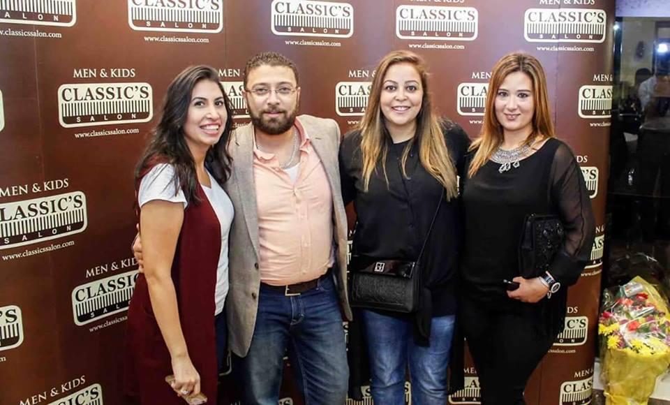 افتتاح احدث افرع كلاسيكس بالمهندسين برعاية حسن شحاتة