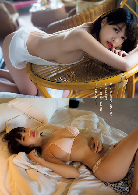 Kishi Asuka 岸明日香 Weekly Playboy June 2017 Pics
