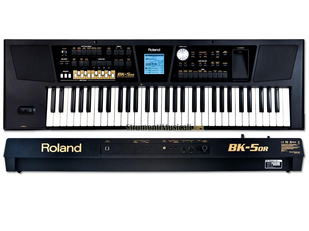 largest-keyboards-library: ROLAND BK-5 Oriental