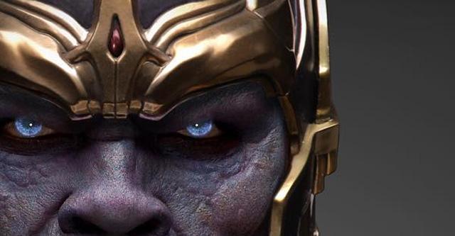 映画「アベンジャーズ」で初登場し、シリーズの3・4作目「インフィニティ・ウォー」の敵としてヒーロー達の前に立ちはだかるキャラクター、サノスの新たなビジュアルが