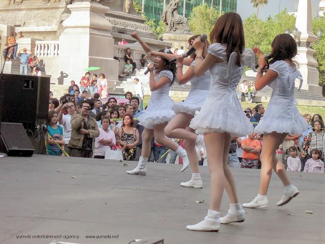 Yumeki Angels Live @MexicoCity