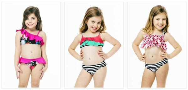 Bikinis para niñas 2018. Bikinis verano 2018 para nenas.