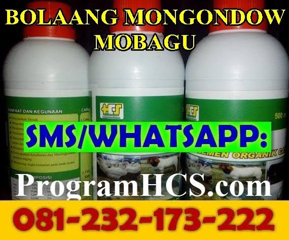 Jual SOC HCS Bolaang Mongondow mobagu