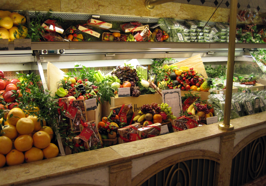 Harrods Food Hall Veg