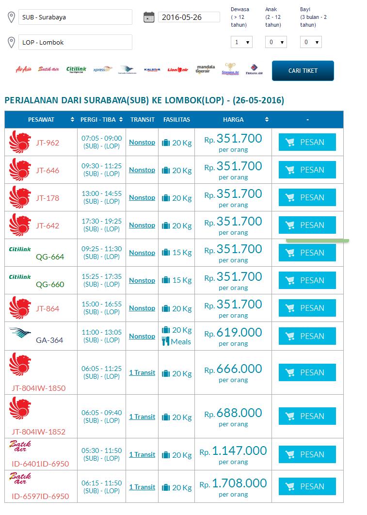 tiket pesawat surabaya lombok mmbc jatim rh mmbcjatim blogspot com harga tiket pesawat lombok bima harga tiket pesawat lombok bandung