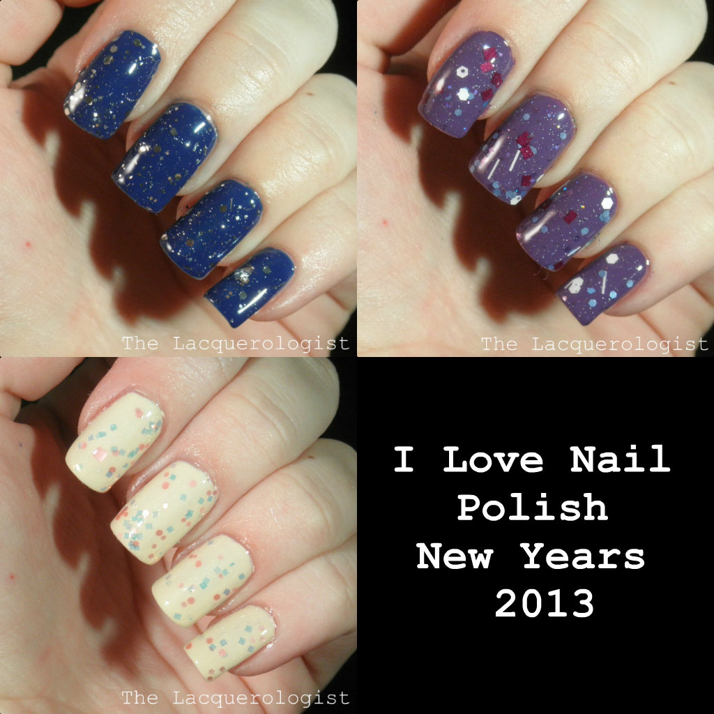 I Love Nail Polish New Years 2013: Swatches and Review! • Casual ...
