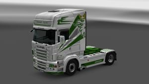 Södertälje Logistics Skin for Scania RJL