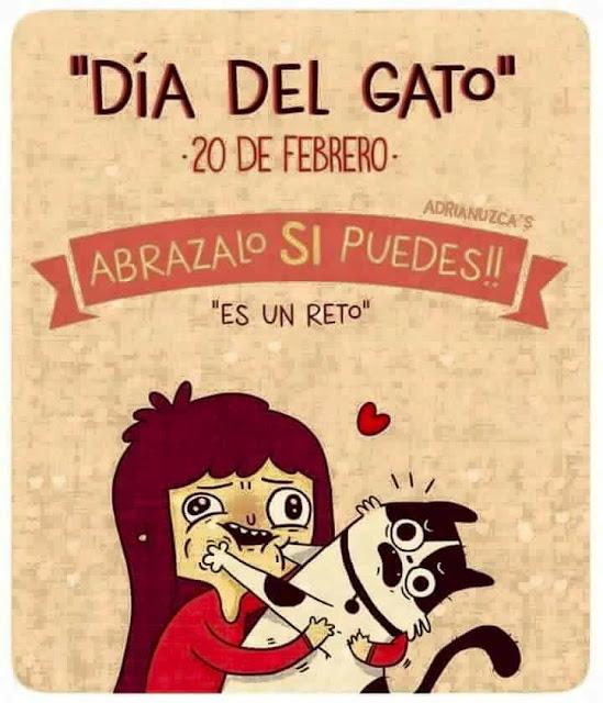 20 de febrero día del gato