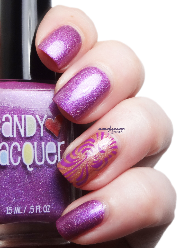 xoxoJen's swatch of Candy Lacquer Jelly Candy