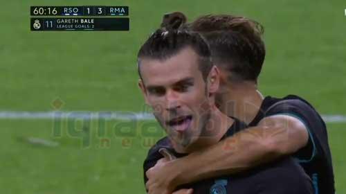 ملخص نتيجة ريال مدريد وريال سوسيداد 3-1 اليوم في الليجا