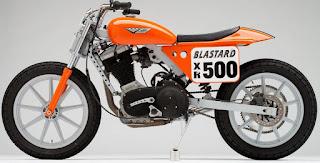 blastard buell blast flat track