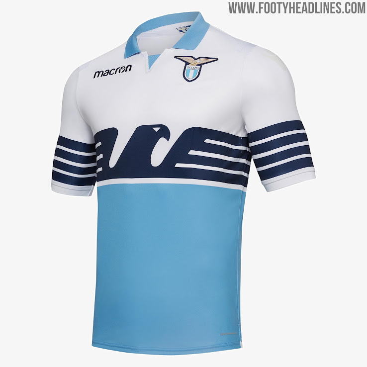b645344974d Lazio Home Shirt 2018-19. Buy now. Free UK shipping - worldwide delivery