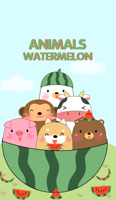 Animals & Watermelon Theme(jp)