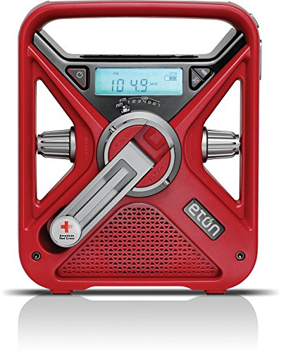 Hand Crank and Battery Powered Radio