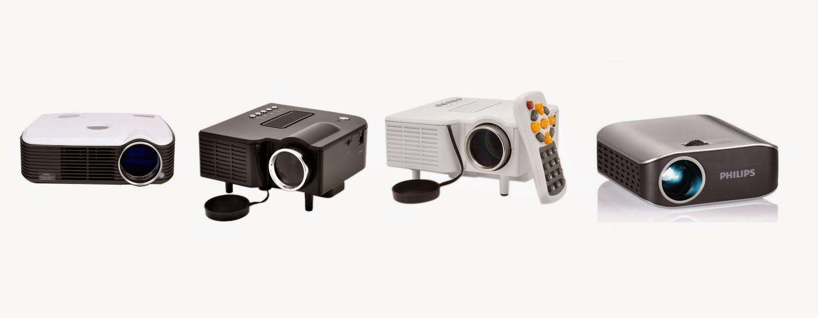 mini projektor lazada