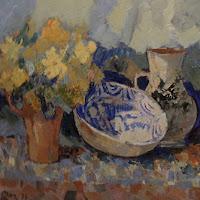 Joan Mas pintura bodegón naturaleza muerta