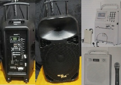 Hawila Multimedia sewa speaker portable rental mic wireless dan sound system