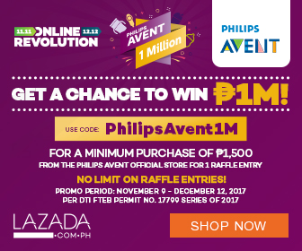 Philips Avent 1 Million Pesos Giveaway