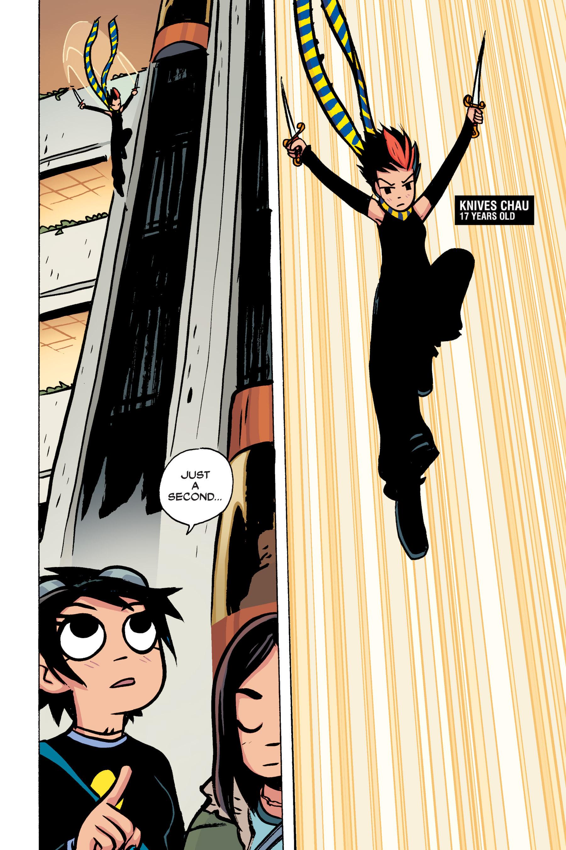 Read online Scott Pilgrim comic -  Issue #2 - 131