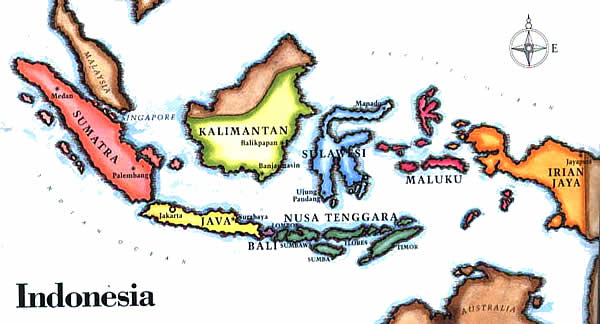 Bali is a province, not a country