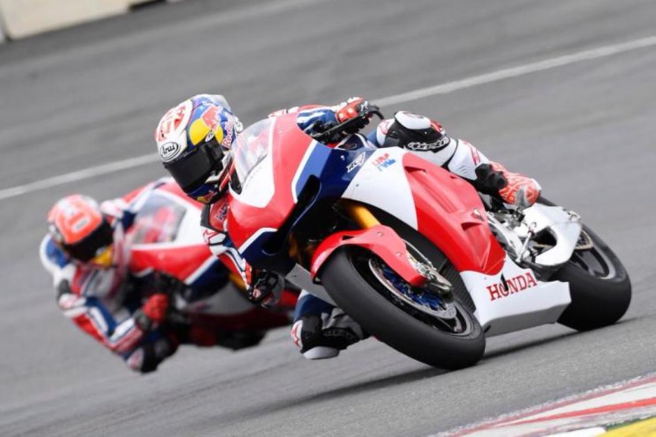 MotoGP 2016 : Terikat aturan . . Marquez dan Pedrosa pelajari sirkuit Red Bull Ring dengan menggunakan Honda RC213V-S