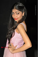 Actress Nidhisha Reddy Pos in Beautiful Pink Dress at Virus Telugu Movie Audio Launch .COM 0035.JPG