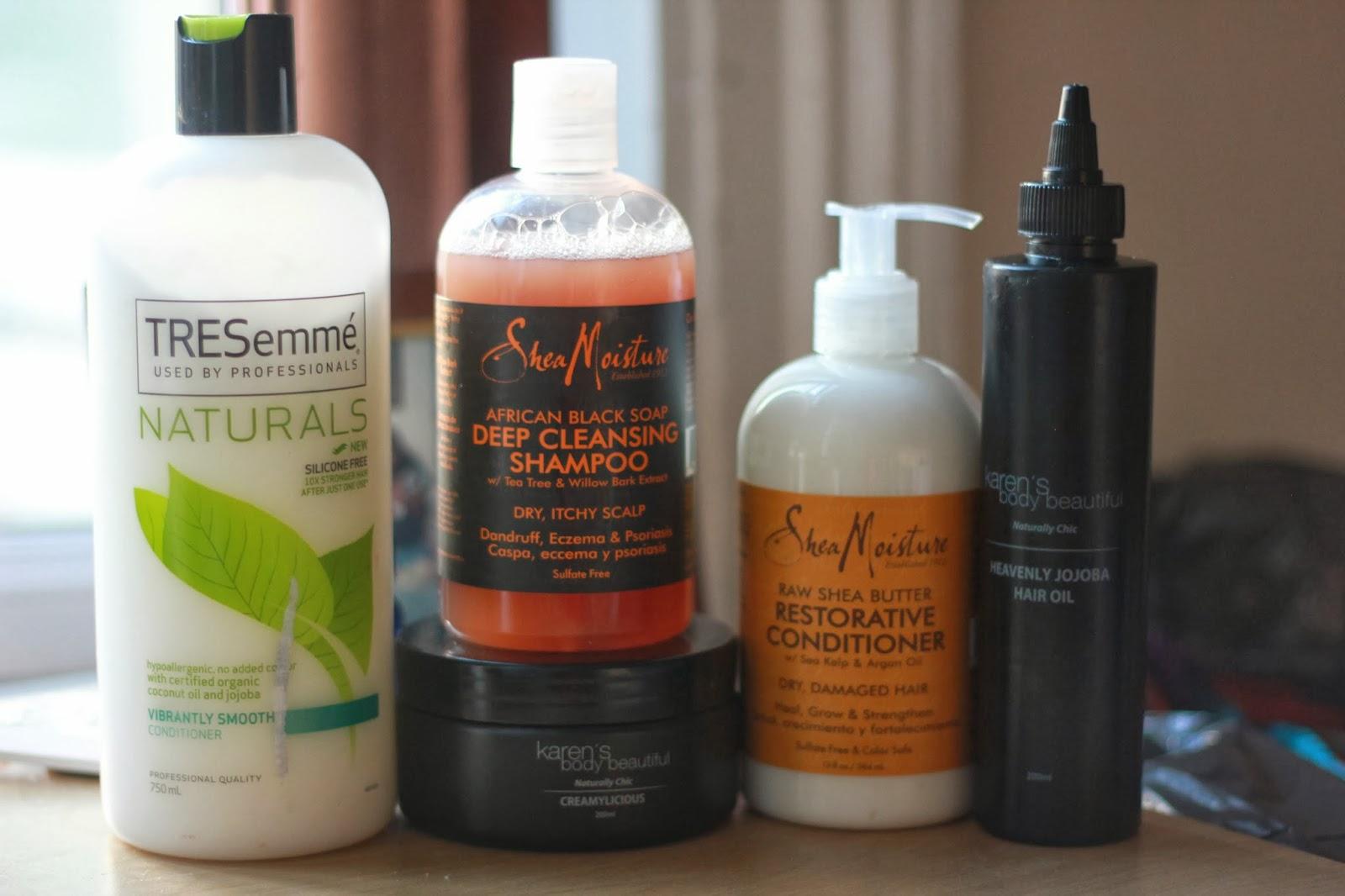 Tresemme Naturals Review Black Hair