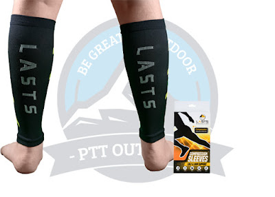 LASTS™ Premium Calf Compression Sleeve.