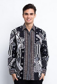 Model baju batik pria modern terbaru untuk ke kantor