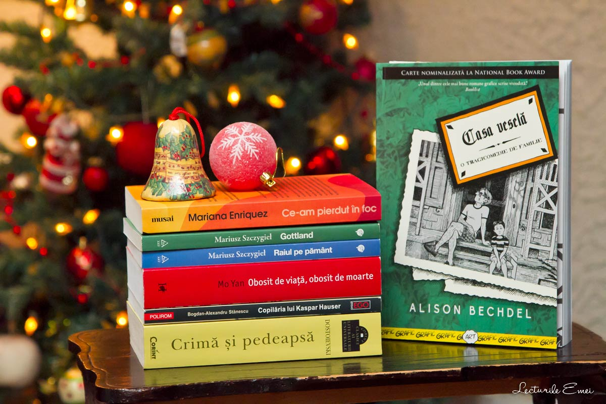 O listă cu cele mai bune cărți citite în a doua jumătate a lui 2017