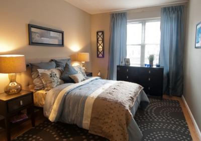 contoh desain kamar tidur minimalis mewah