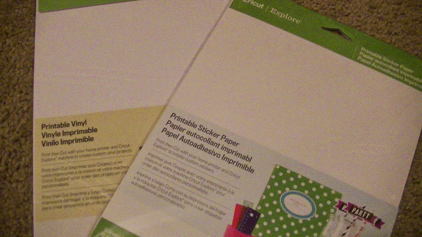 photo regarding Printable Contact Paper named Designspace44: Printable Vinyl and Sticker Paper