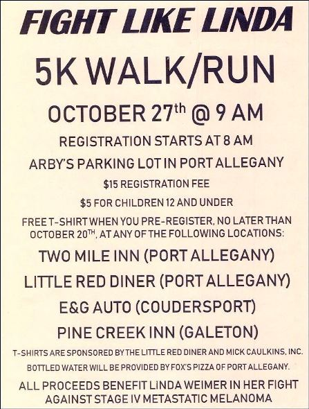 10-27 Fight Like Linda 5K Walk/Run