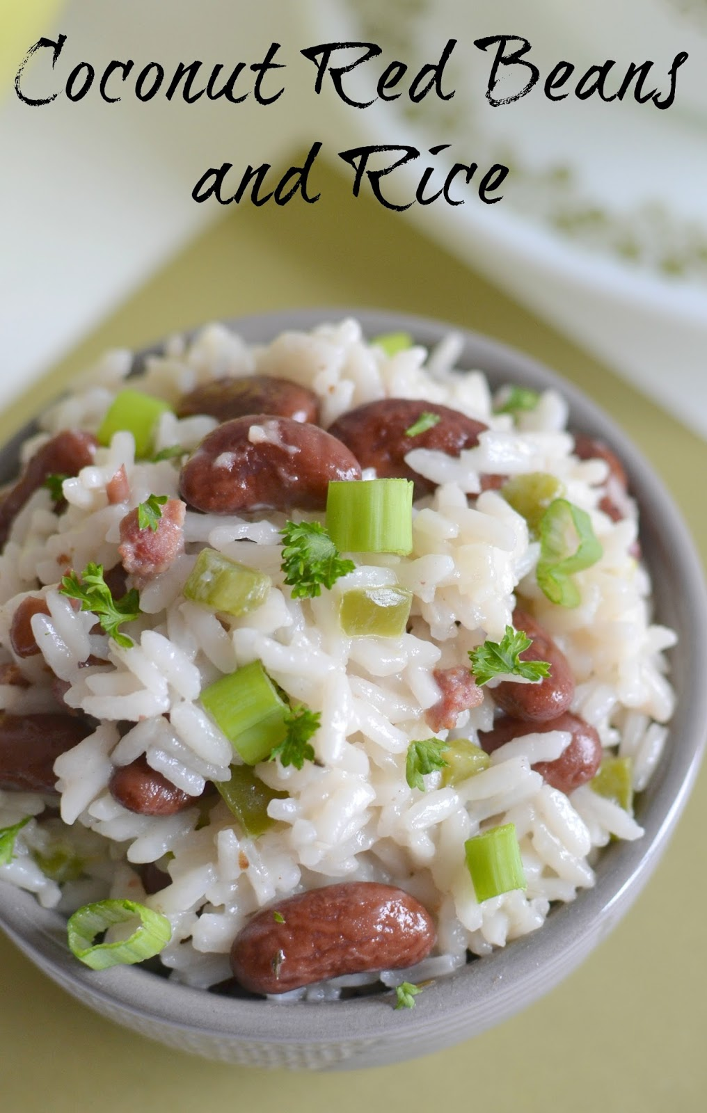 Hot eats and cool reads savory coconut red beans and rice for Rice recipes to go with fish