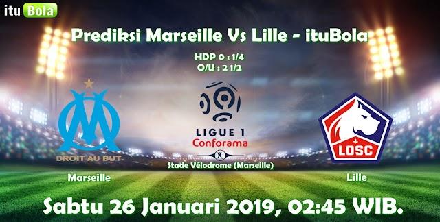Prediksi Marseille Vs Lille - ituBola