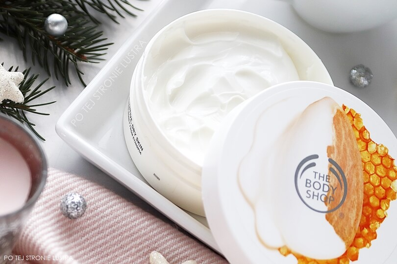 the body shop masło do ciała almond milk & honey