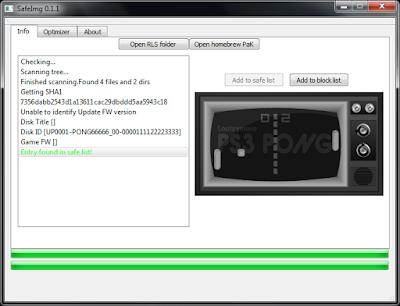 Πως να μειώσετε το μέγεθος των iso του PS3 με το SafeImg 2