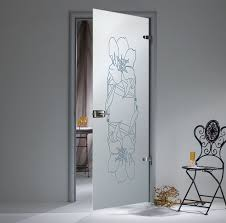 Glass doors will benefit your interior.