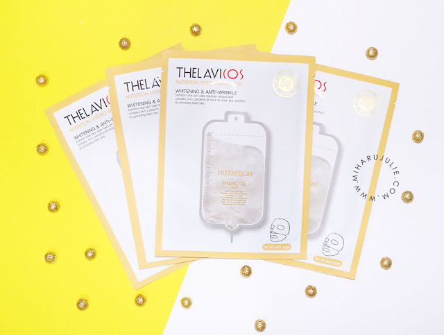 review THELAVICOS Nutrition Hydro Gel Mask