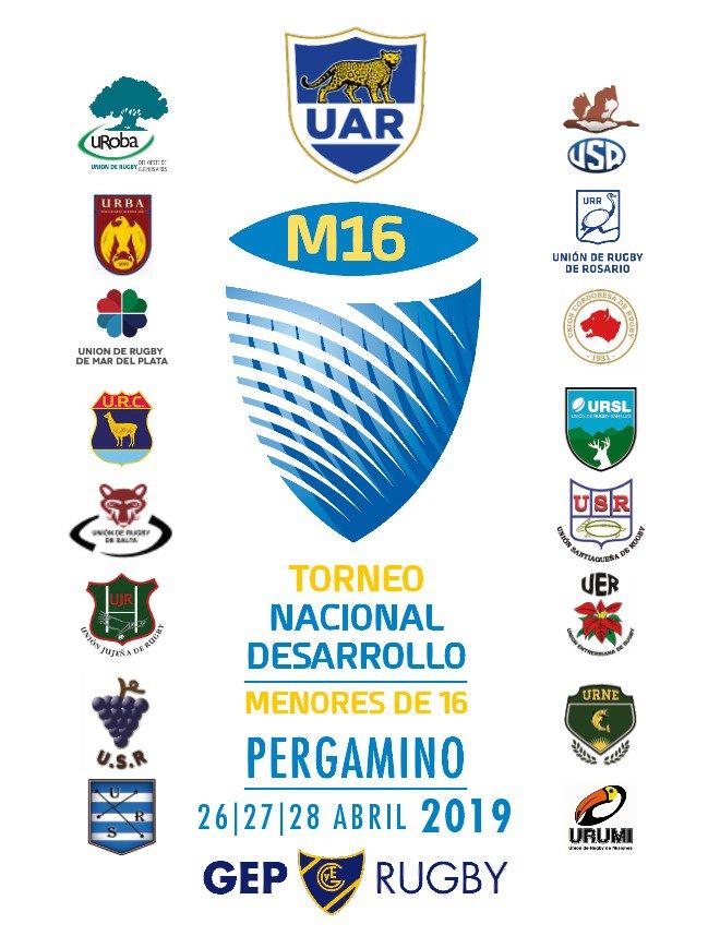 Torneo Nacional Desarrollo M16 - Pergamino 2019