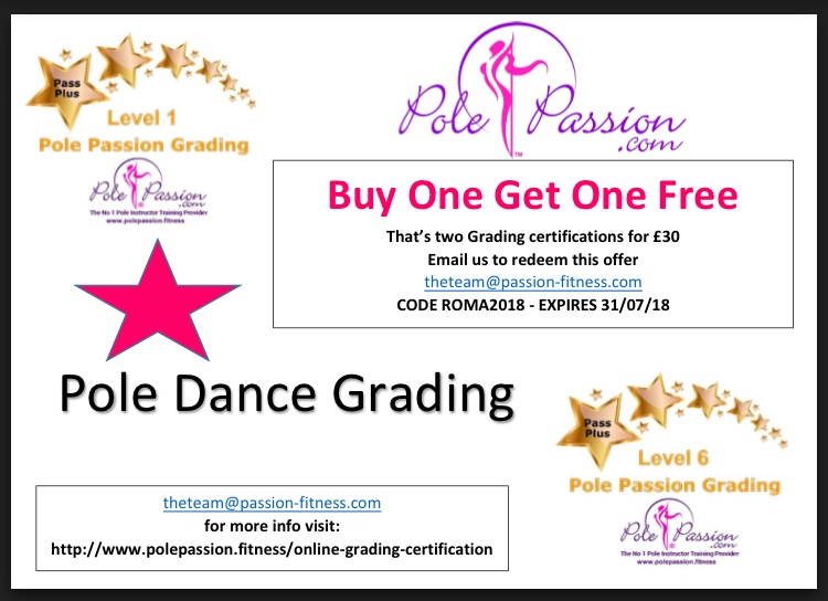 Pole Passion: Online Instructor Training DISCOUNTS - SPONSORSHIP for ...