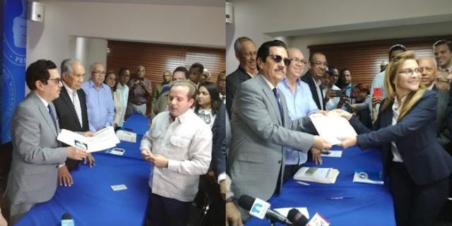 Inscripción Paliza y Carolina evidencia pacto entre HM y LA para dirigir PRM