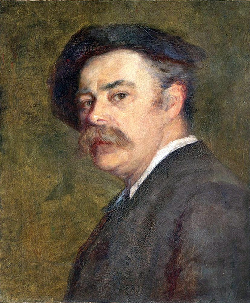Frederick McCubbin, Self Portrait, Portraits of Painters, Fine arts
