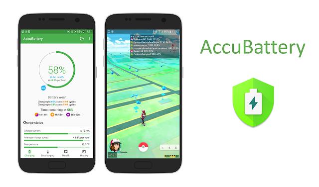 تحميل تطبيق AccuBattery للحفاض على البطارية وزيادة عمر البطارية