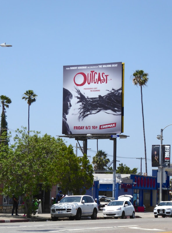 Outcast season 1 billboard