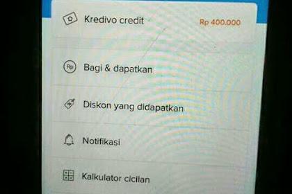 Cara Mendaftar Akun KREDIVO Dan Dapatkan Bonus 50.000 Hingga 100.000